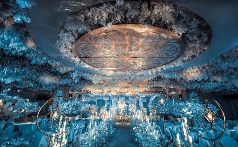 婚礼堂发布:超1000平米!餐饮酒店打造全新主题宴会厅  第7张