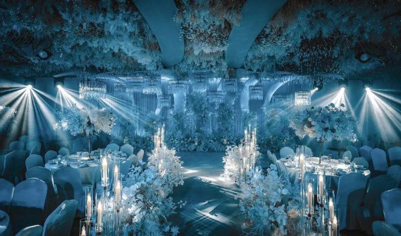 婚礼堂发布:超1000平米!餐饮酒店打造全新主题宴会厅  第8张