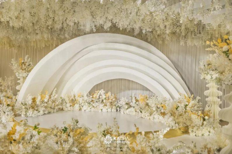 婚礼堂发布:三线城市改造升级,一中一西两种风格!  第14张
