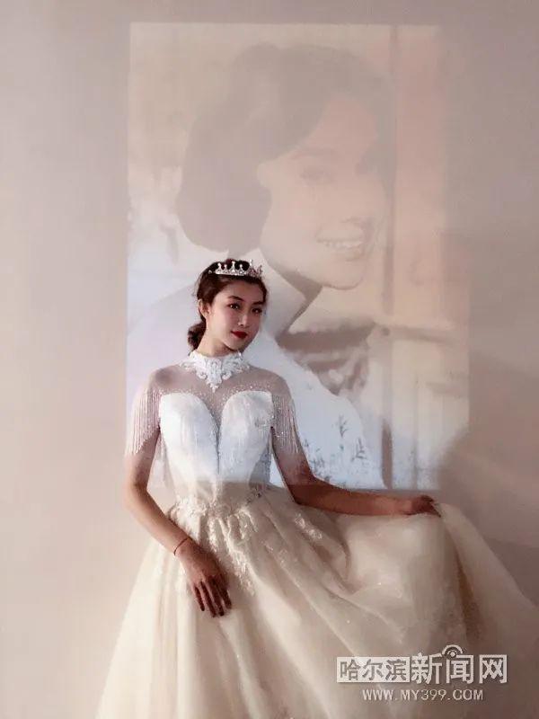 """婚纱摄影不再是""""恋人""""专属,单身婚纱照越来越个性  第1张"""