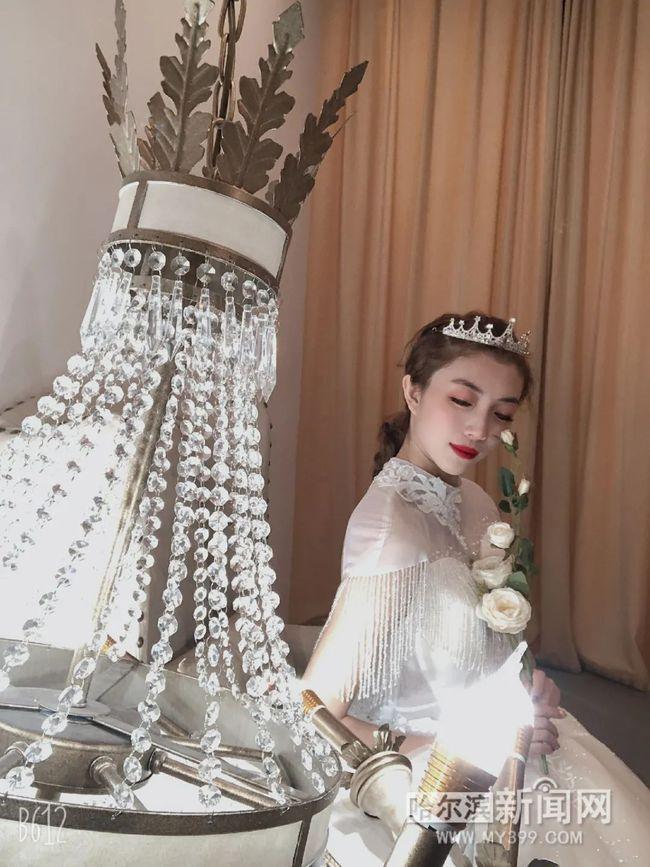 """婚纱摄影不再是""""恋人""""专属,单身婚纱照越来越个性  第2张"""