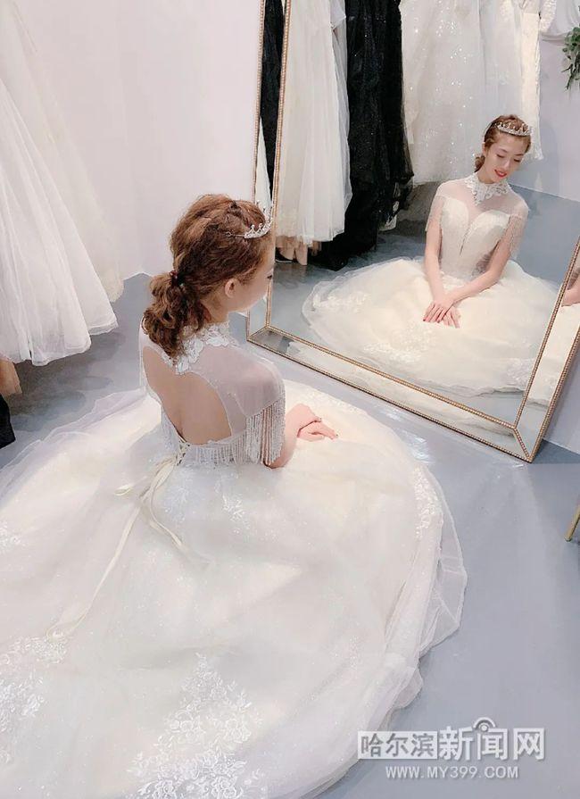 """婚纱摄影不再是""""恋人""""专属,单身婚纱照越来越个性  第3张"""