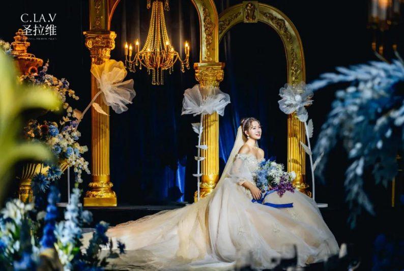 婚礼堂新品:体验10大流行色系主题婚礼!  第10张