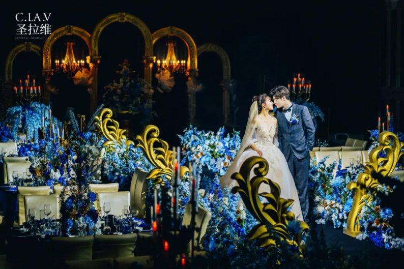 婚礼堂新品:体验10大流行色系主题婚礼!  第11张