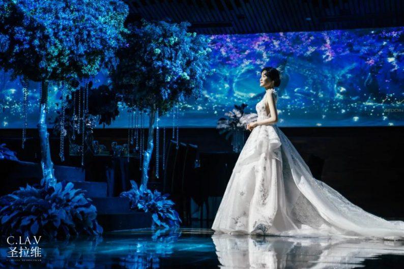 婚礼堂新品:体验10大流行色系主题婚礼!  第13张