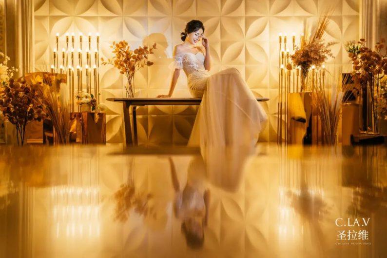 婚礼堂新品:体验10大流行色系主题婚礼!  第15张