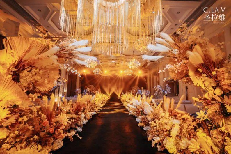 婚礼堂新品:体验10大流行色系主题婚礼!  第16张