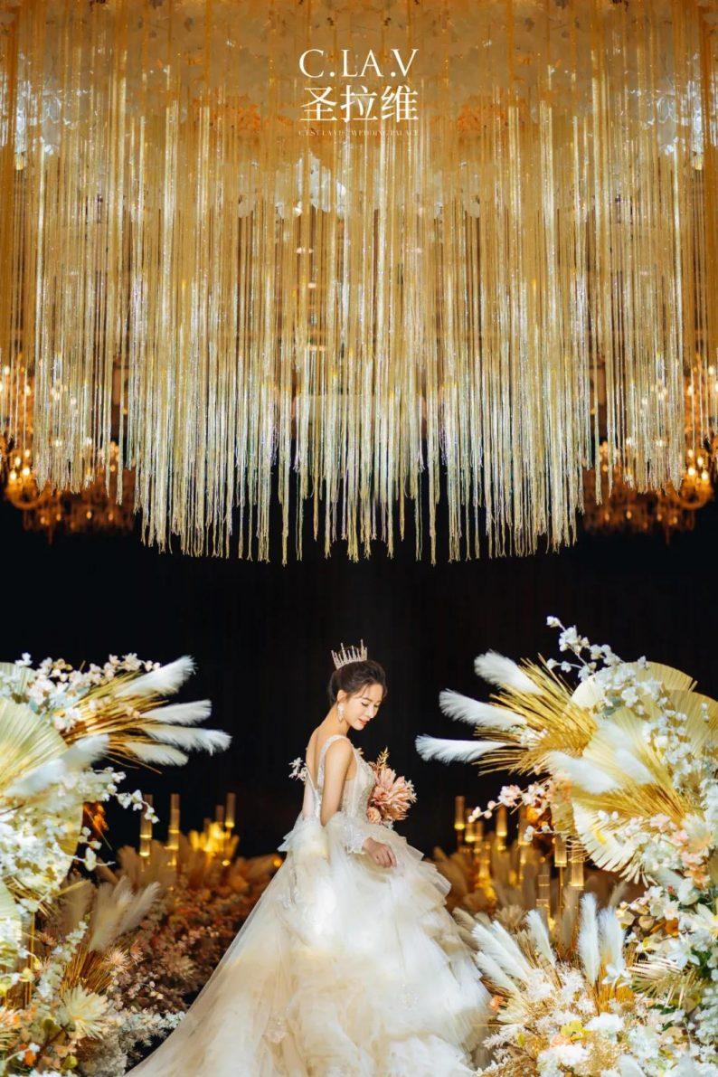 婚礼堂新品:体验10大流行色系主题婚礼!  第18张