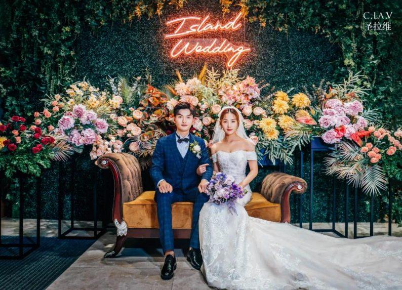 婚礼堂新品:体验10大流行色系主题婚礼!  第23张