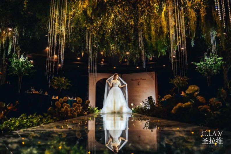 婚礼堂新品:体验10大流行色系主题婚礼!  第25张