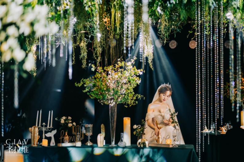 婚礼堂新品:体验10大流行色系主题婚礼!  第26张
