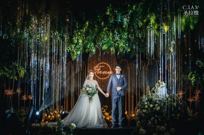 婚礼堂新品:体验10大流行色系主题婚礼!  第27张