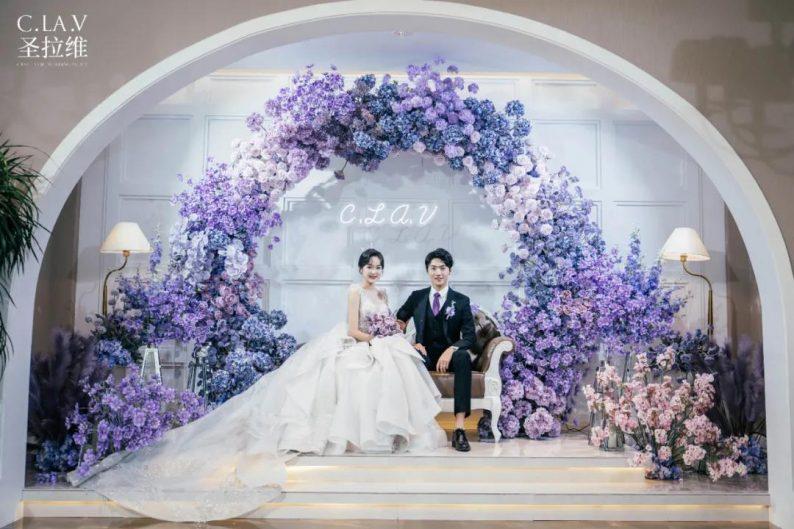 婚礼堂新品:体验10大流行色系主题婚礼!  第31张