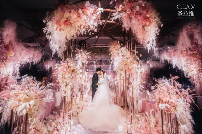婚礼堂新品:体验10大流行色系主题婚礼!  第33张