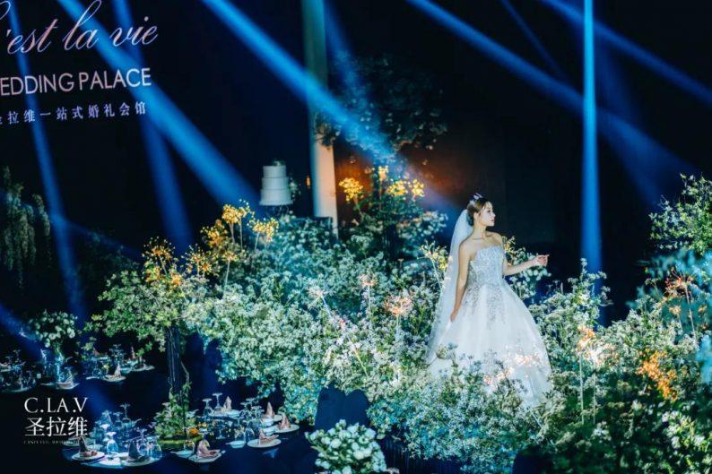 婚礼堂新品:体验10大流行色系主题婚礼!  第38张