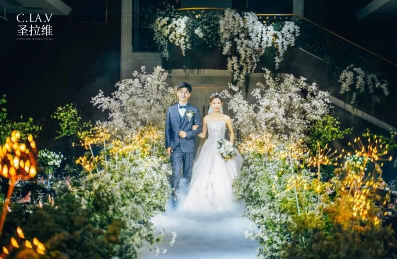 婚礼堂新品:体验10大流行色系主题婚礼!  第39张