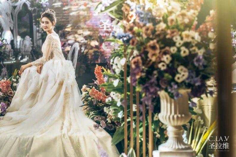 婚礼堂新品:体验10大流行色系主题婚礼!  第40张