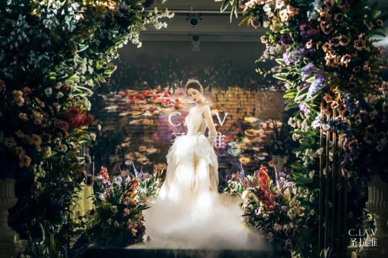 婚礼堂新品:体验10大流行色系主题婚礼!  第41张
