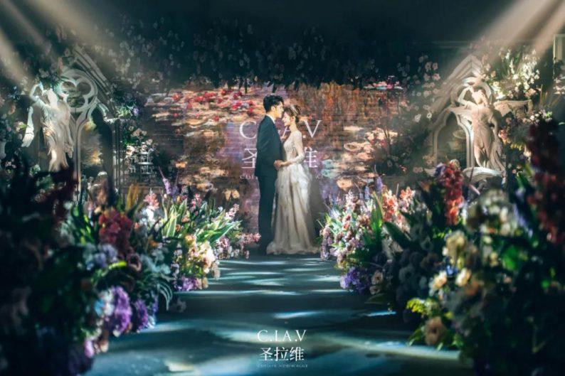 婚礼堂新品:体验10大流行色系主题婚礼!  第43张
