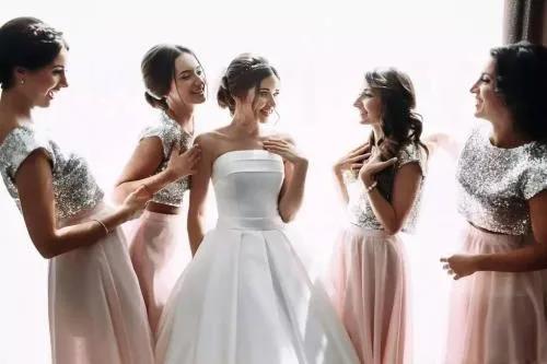 比结婚更难的,是凑齐伴娘团……  第2张