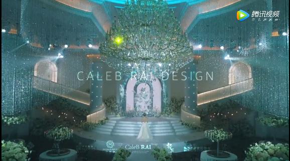 婚礼堂发布:赖梓愈倾心巨作!189小时打造百万宴会厅  第4张