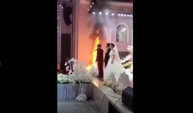 婚礼现场起火隐患,消防怎么说?  第2张