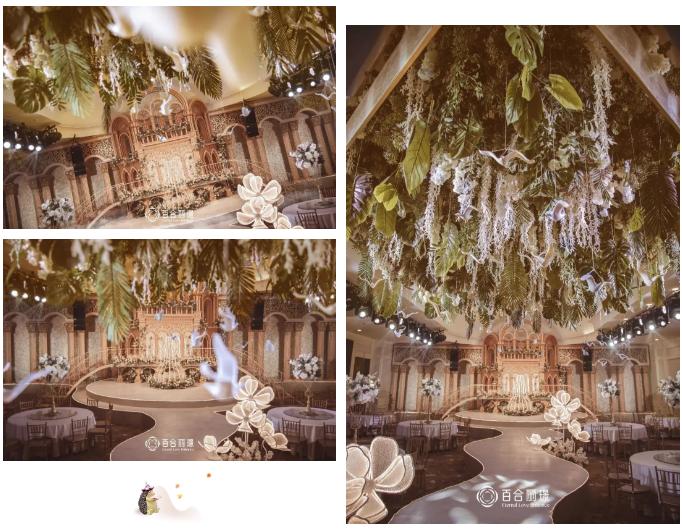 婚礼堂发布:斥资百万打造!天津4000平婚礼圣殿  第8张