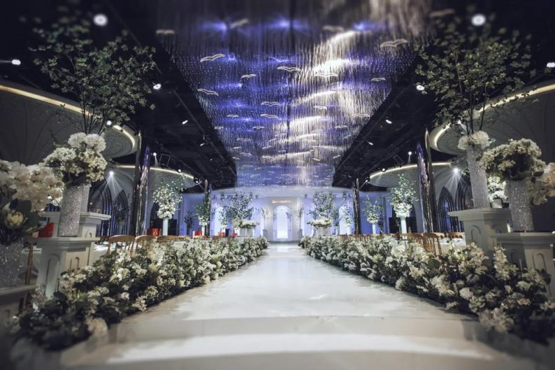 婚礼堂发布:6大主题厅!莱州首家主题宴会酒店  第15张