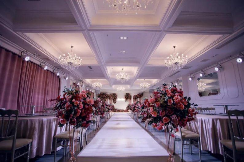 婚礼堂发布:6大主题厅!莱州首家主题宴会酒店  第21张
