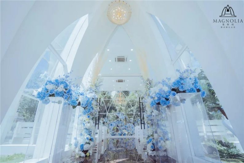婚礼堂发布:魔都上海最美婚礼仪式堂合集  第6张