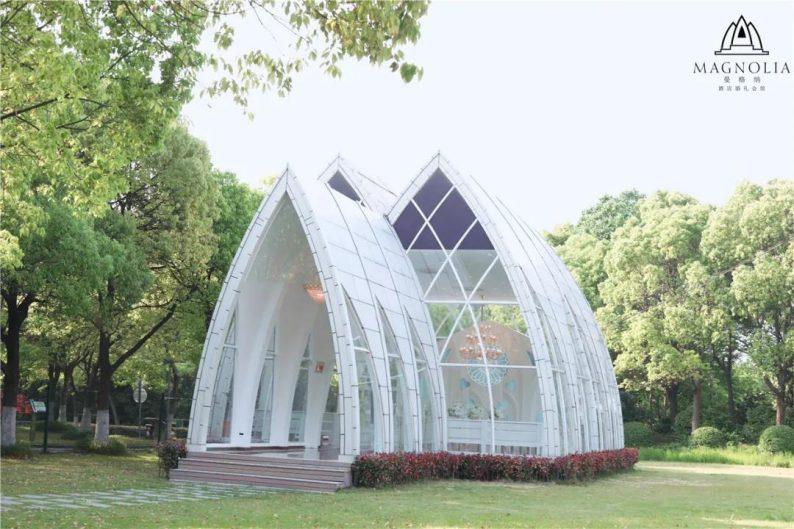 婚礼堂发布:魔都上海最美婚礼仪式堂合集  第9张