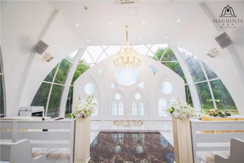 婚礼堂发布:魔都上海最美婚礼仪式堂合集  第12张
