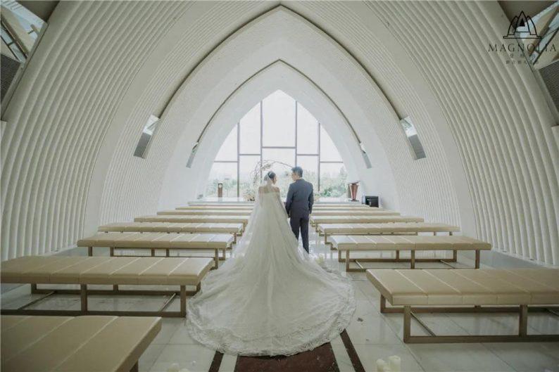 婚礼堂发布:魔都上海最美婚礼仪式堂合集  第17张