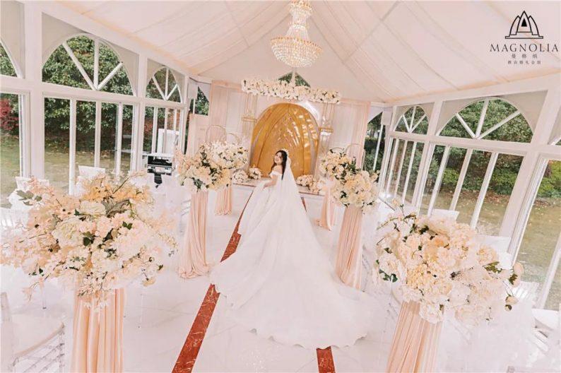 婚礼堂发布:魔都上海最美婚礼仪式堂合集  第23张