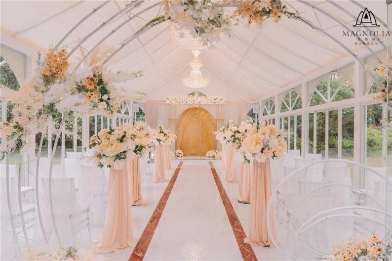 婚礼堂发布:魔都上海最美婚礼仪式堂合集  第24张