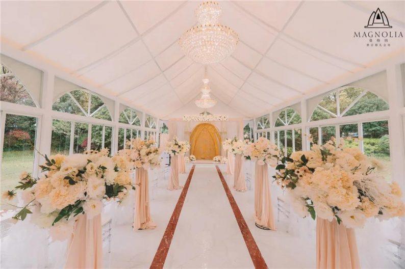 婚礼堂发布:魔都上海最美婚礼仪式堂合集  第25张