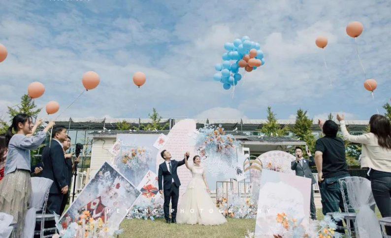 婚礼堂发布:百亩草坪、3大宴会厅!常州花鸟园生态酒店  第10张