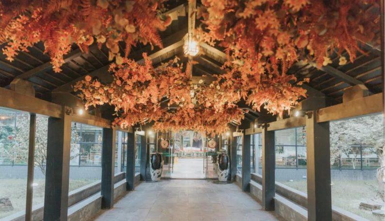 婚礼堂发布:百亩草坪、3大宴会厅!常州花鸟园生态酒店  第19张