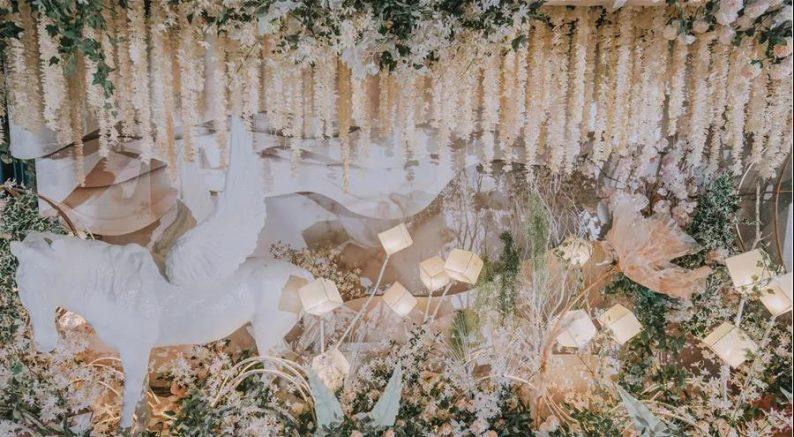 婚礼堂发布:百亩草坪、3大宴会厅!常州花鸟园生态酒店  第23张