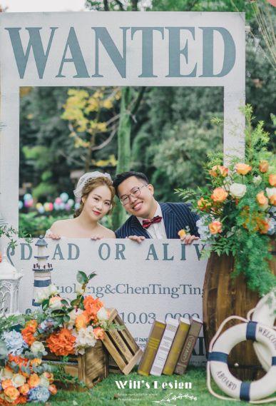 刷爆朋友圈!实用、有趣的婚礼拍照道具  第6张