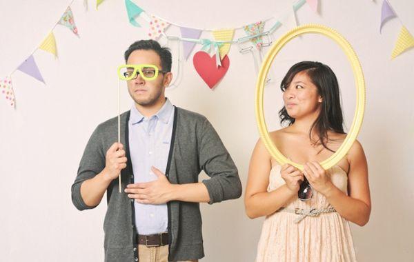 刷爆朋友圈!实用、有趣的婚礼拍照道具  第20张