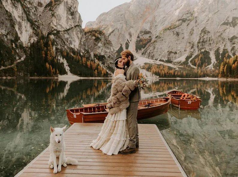 秋冬婚礼超全Tips!保暖的同时做最美的新娘  第8张