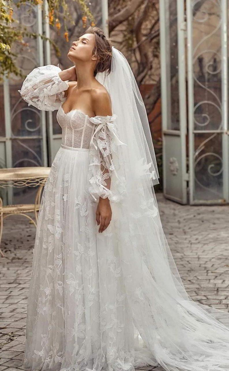 纽约新娘时装周:2021年秋冬婚纱最新系列  第7张