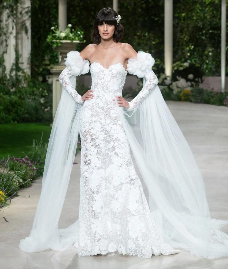 纽约新娘时装周:2021年秋冬婚纱最新系列  第9张