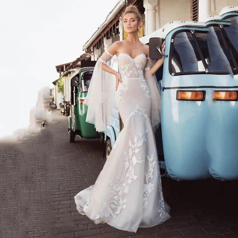 纽约新娘时装周:2021年秋冬婚纱最新系列  第10张