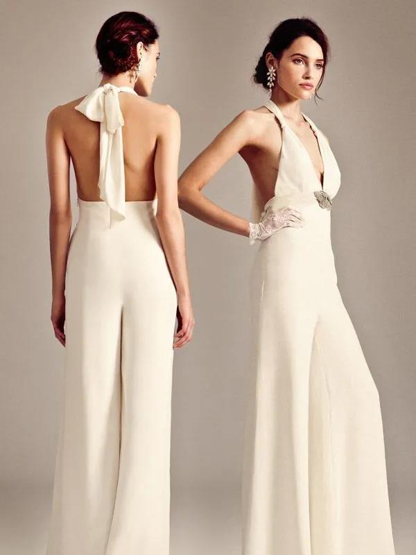 纽约新娘时装周:2021年秋冬婚纱最新系列  第15张