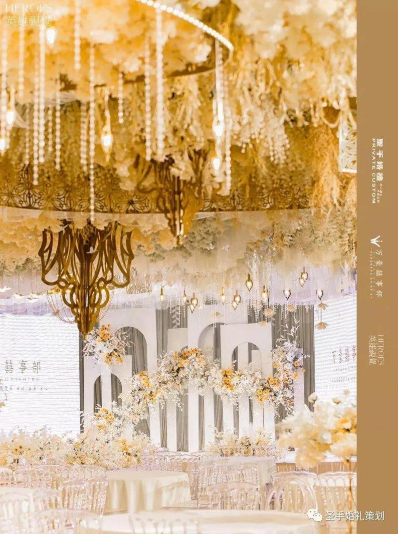 婚礼堂发布:万豪金色大厅——百合厅【爱的花园】  第3张