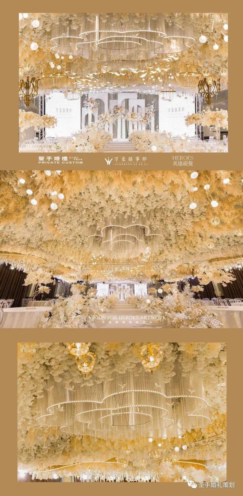 婚礼堂发布:万豪金色大厅——百合厅【爱的花园】  第4张