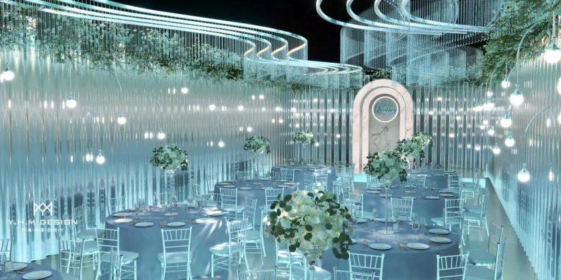 婚礼堂发布:超8800方!宿松首家百万级奢华婚礼堂  第8张