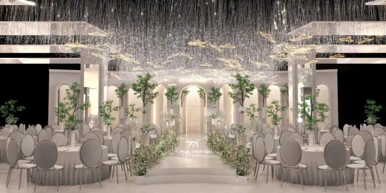 婚礼堂发布:超8800方!宿松首家百万级奢华婚礼堂  第9张